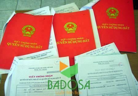 Dịch vụ làm sổ đỏ, Thủ tục pháp lý, Sang tên sổ đỏ, Thủ tục hoàn công, Công ty Badosa