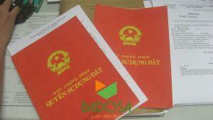 Chi phí làm sổ đỏ, Hồ sơ xin cấp sổ đỏ, Công ty Badosa, Cấp sổ đỏ, Sổ đỏ, Tư vấn pháp lý Badosa