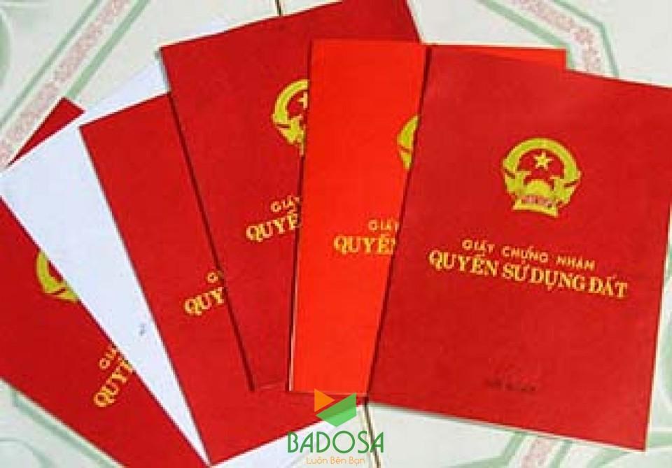 Sổ đỏ, Làm sổ đỏ, Thủ tục làm sổ đỏ, Badosa, Thủ tục xin cấp lại sổ đỏ, Tư vấn pháp lý Badosa